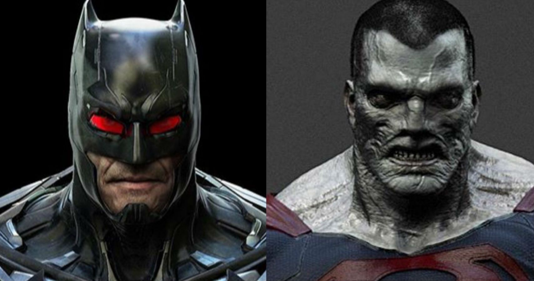 Batman, Bizarro, And King Shark Designs From Cancelled Game Surface Online