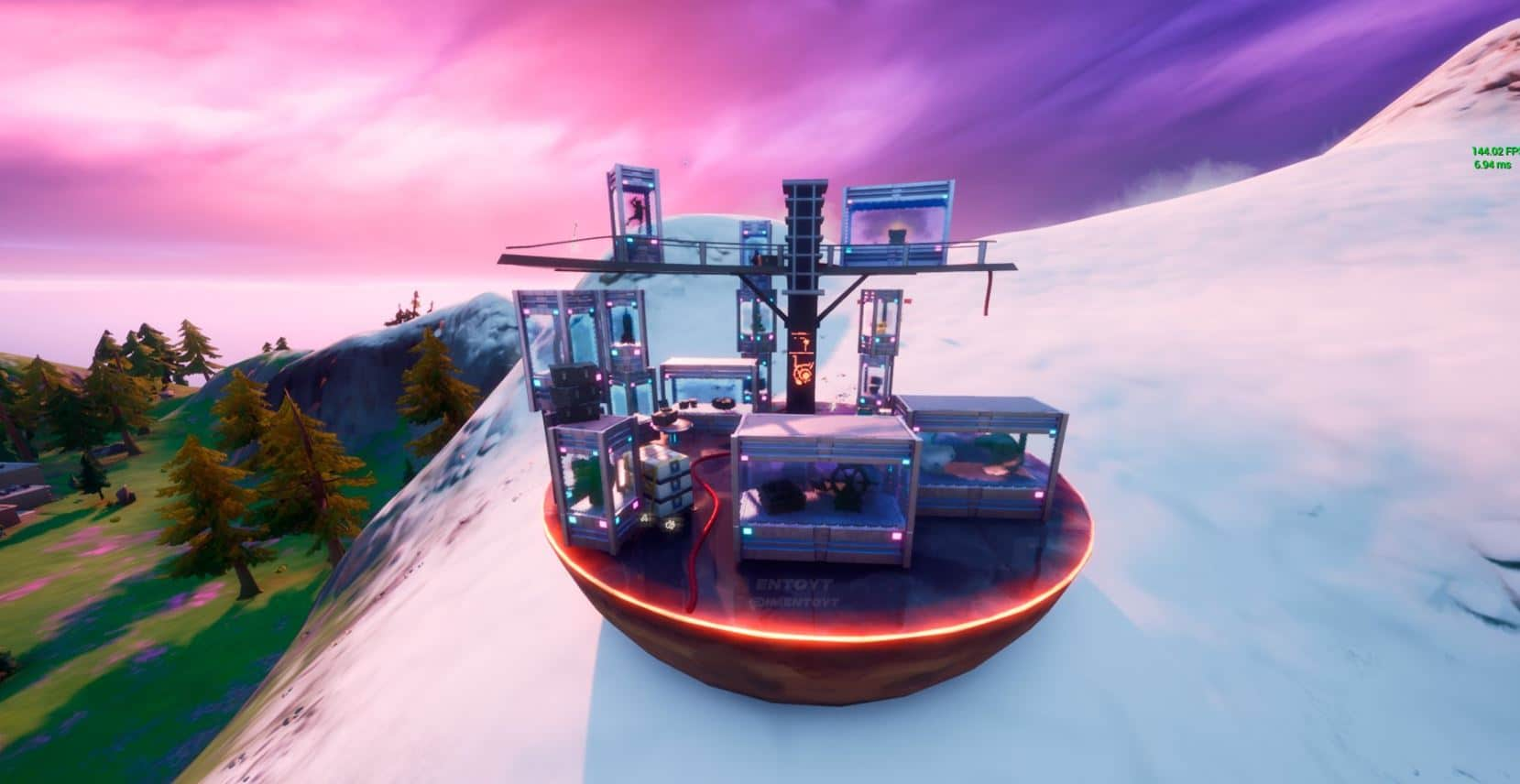 Fortnite Season 4 adds the Collector's Museum to the island