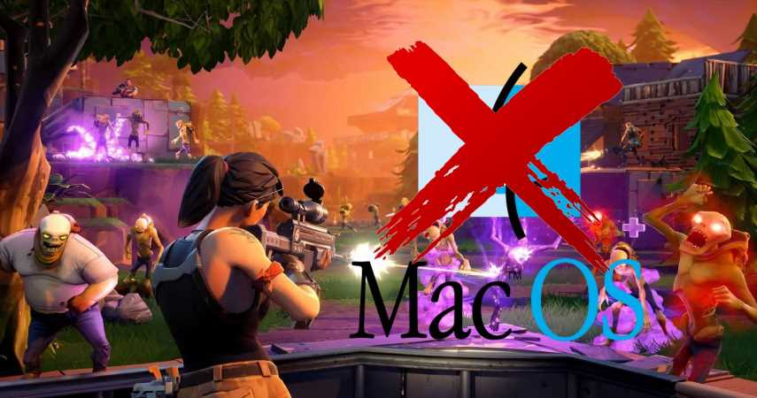 Fortnite: Save The World Leaves macOS As Epic Games And Apple Continue To Fight