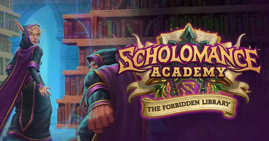 Hearthstone's Forbidden Library Update Adds A New Solo Adventure And More