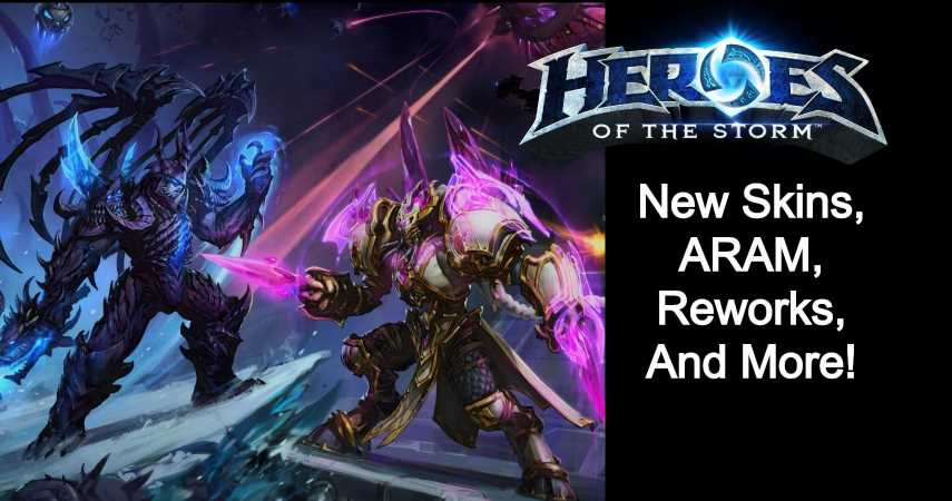 Heroes Of The Storm Adds A New Nexus Anomaly, ARAM Mode, And Crossover Cosmetics