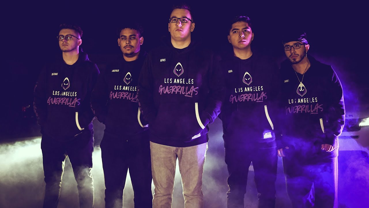 Los Angeles Guerrillas nearly clean house before CDL Free Agency