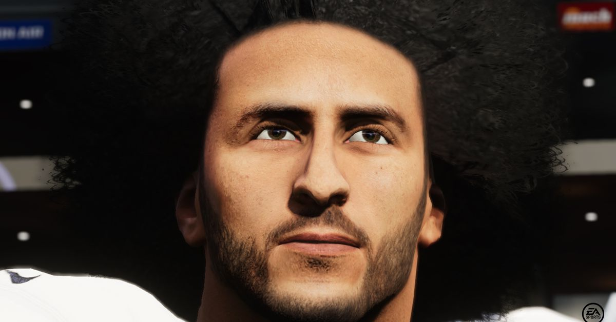 EA adds Colin Kaepernick to Madden NFL 21