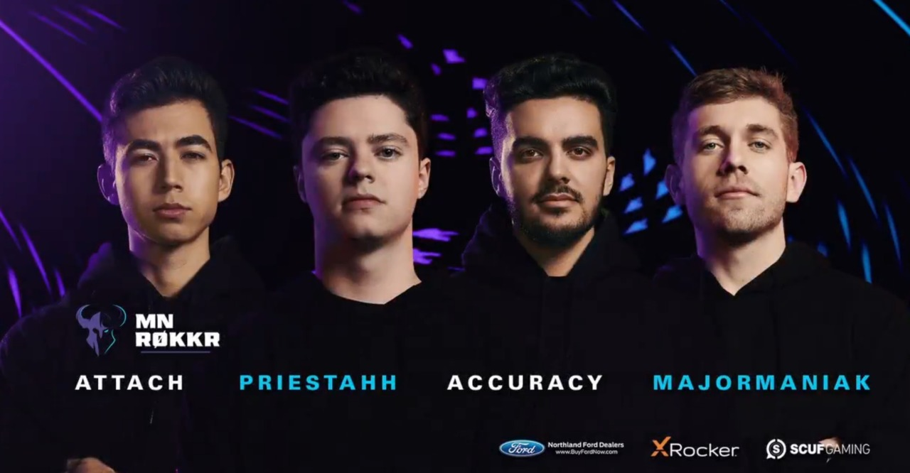The Minnesota Rokkr announce new 2021 Call of Duty League roster