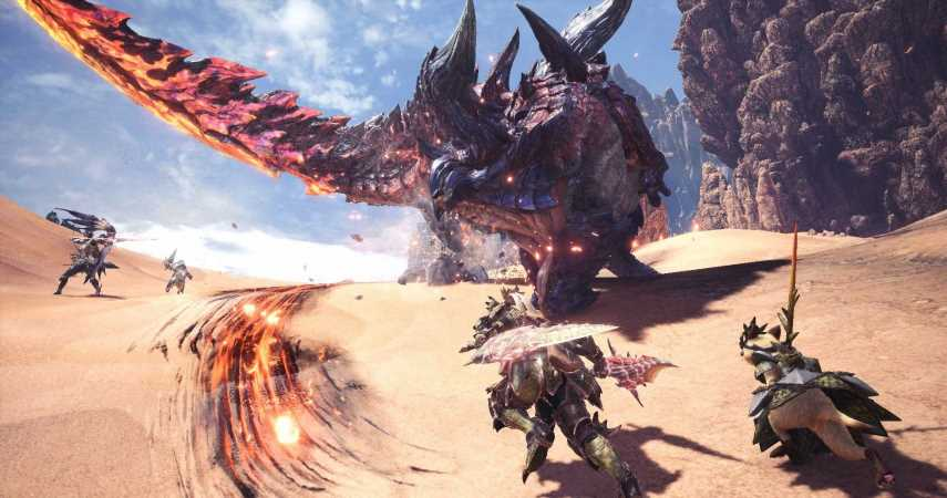 Details Of New Monster Hunter Game On Switch Leak Online, Launching In 2021