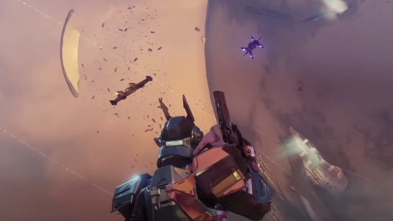Destiny 2 Traveler's Chosen Exotic Trailer Showcases New Weapon