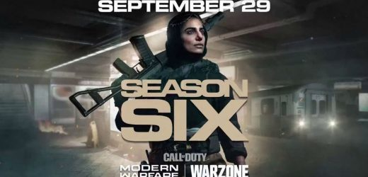 Warzone's Season Six Update Is Now Available To Pre-Load On PS4