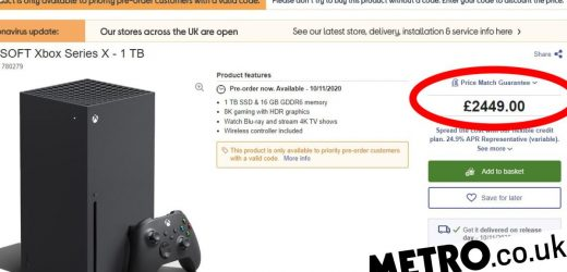 Currys PC World charging £2449 for Xbox Series X to put off scalpers