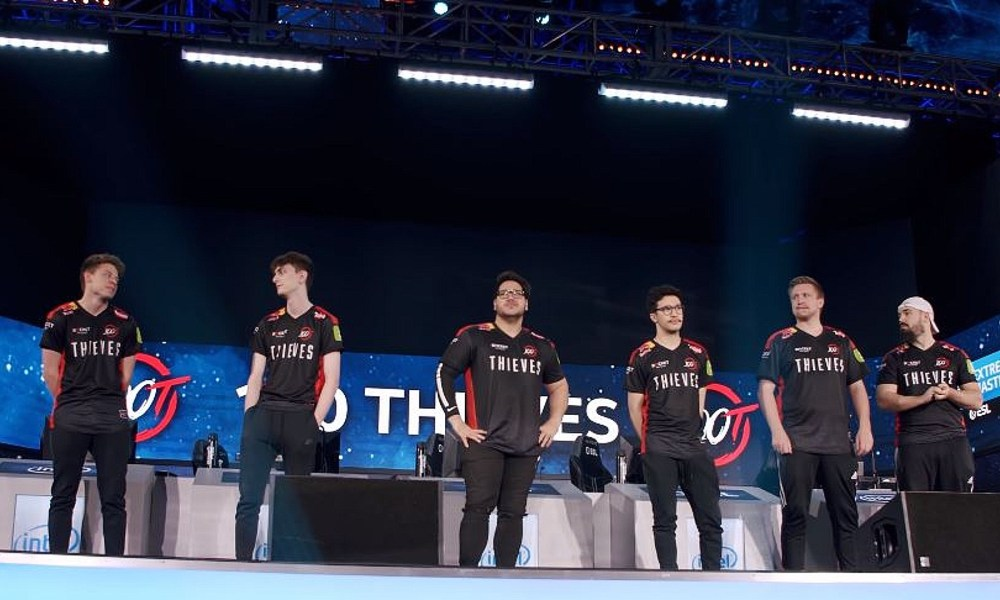 "100 Thieves exit CSGO citing ""multiple reasons"""