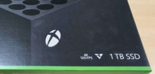 Xbox Series X Packaging Gives A Good Look At The Vents