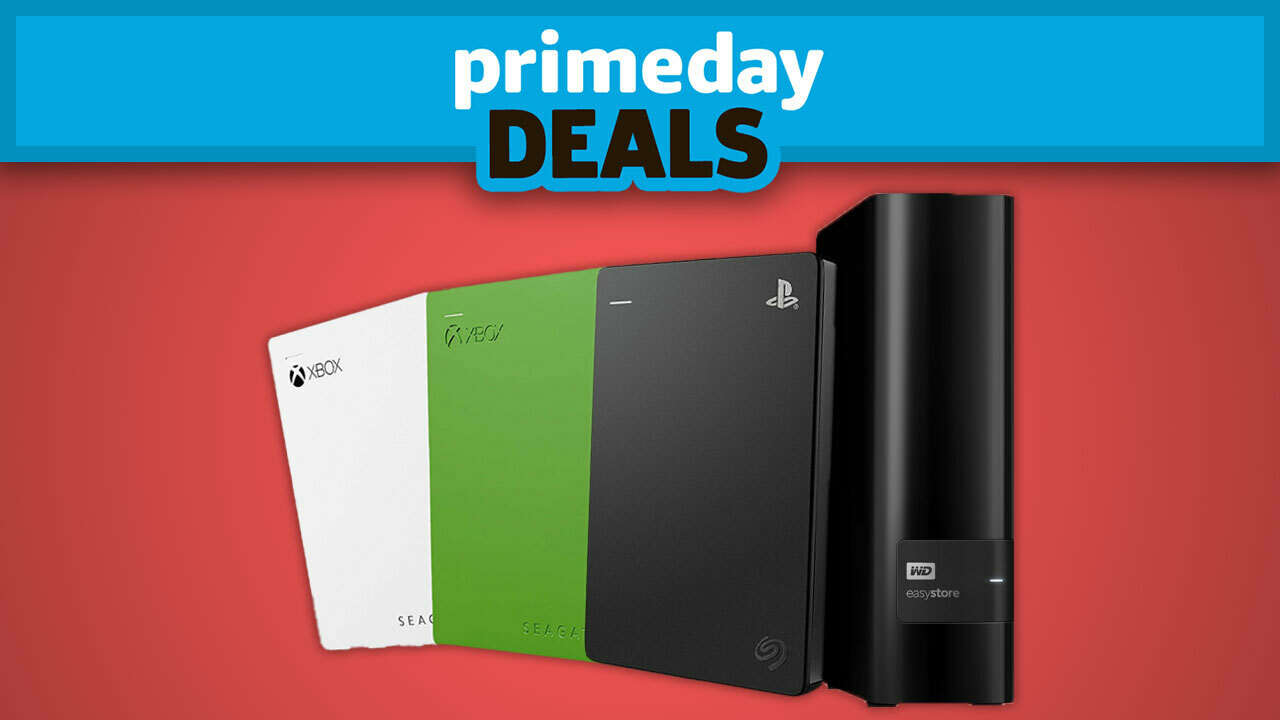 Best Prime Day 2020 Hard Drive Deals For PS5 And Xbox Series X