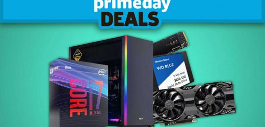 Massive Tech Sale Discounts Graphics Cards, Gaming PCs, And More During Amazon Prime Day