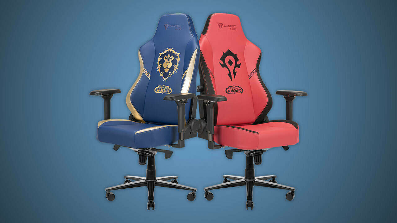 New World Of Warcraft Chairs From Secretlab Let You Choose Alliance Vs. Horde Again