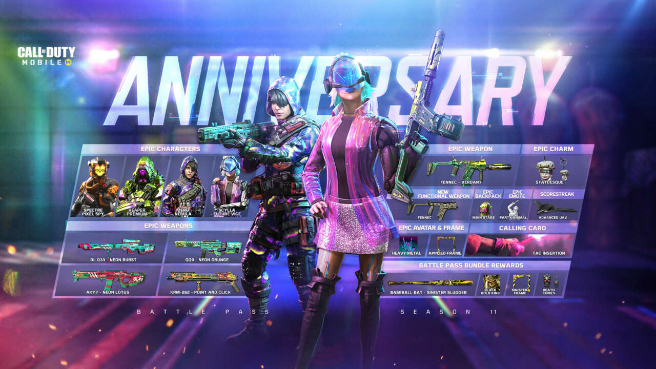 Call Of Duty Mobile Celebrates 1st Anniversary With A Biggest Update Ever