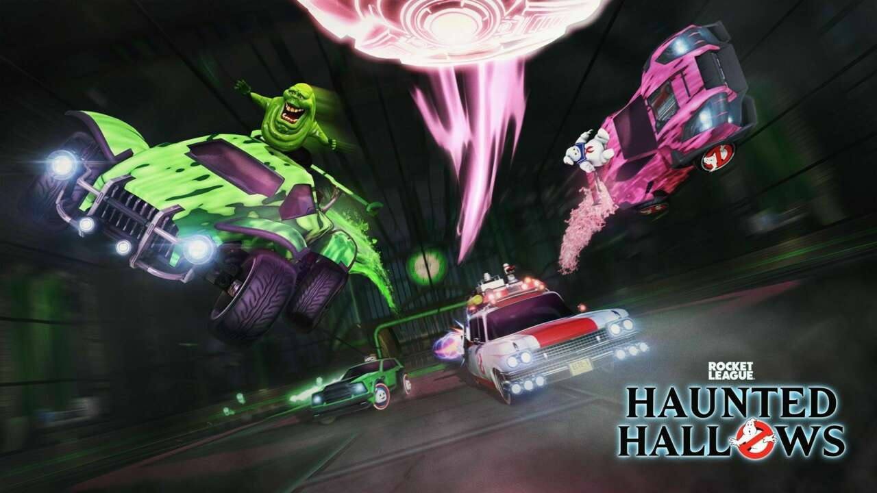 Rocket League Haunted Hallows Event Now Live, Brings Back Ghostbusters-Themed Items