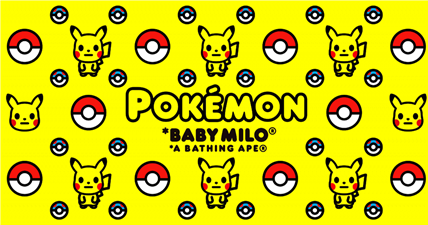 Bape Pokemon Collaboration Due To Launch On October 31