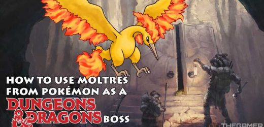 How To Use Moltres From Pokemon As A D&D Boss