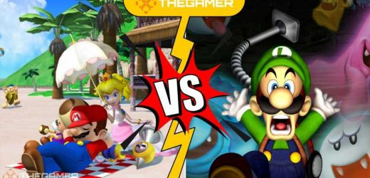 Between GameCube Games, Super Mario Sunshine Simply Eclipses Luigi's Mansion