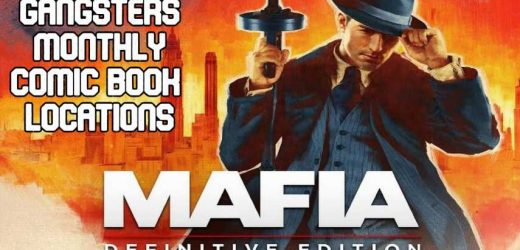 Mafia: Definitive Edition – Gangsters Monthly Comic Book Locations