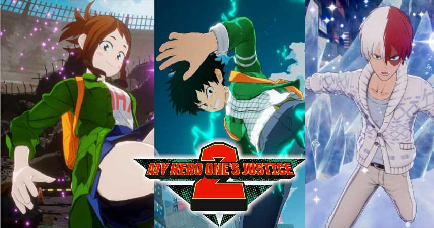 Deku And The Gang Wear Casual In Upcoming My Hero One's Justice 2 Update
