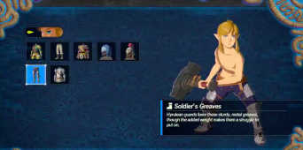Link Can Change Clothes And Find Koroks In Hyrule Warriors: Age Of Calamity
