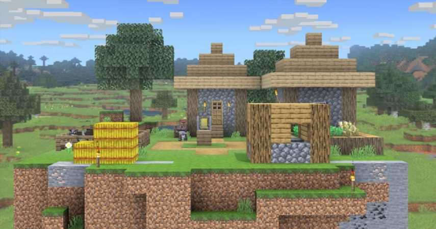 Super Smash Bros. Ultimate's Minecraft Stage Has Button Inputs To Select Biomes