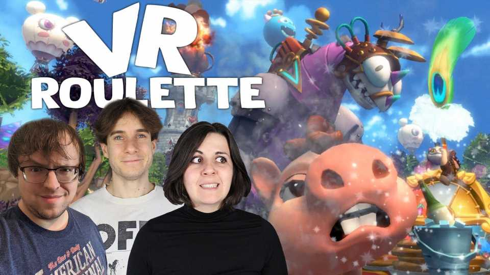 VR Roulette Episode 5: Punching Pigs, Quidditch And Doritos