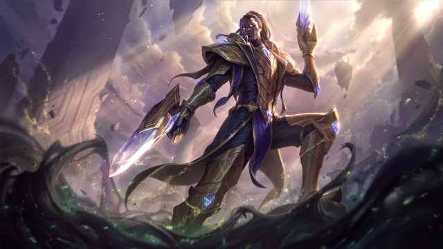 Riot gives first look at Victorious Lucian skin and all its chromas for League's 2020 ranked rewards