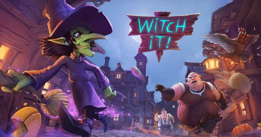 Witch It Comes Out Of Early Access Hiding For Halloween