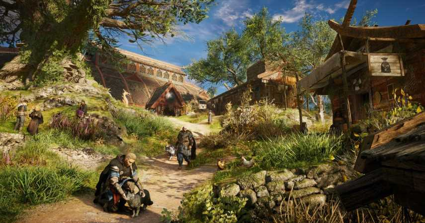 Assassin's Creed Valhalla's Settlement Will Include A Shop, Museum, And More