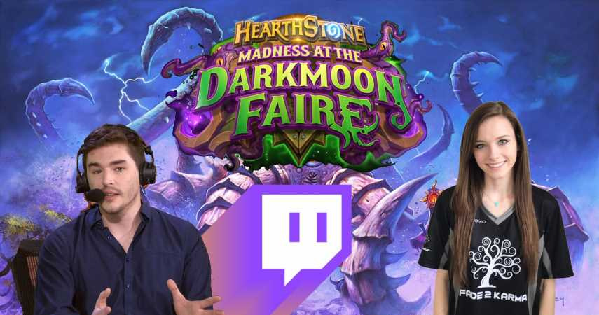 Hearthstone's Madness At The Darkmoon Faire Pre-Launch Party Offers Twitch Drops For Free Bundles, Packs, And Subs