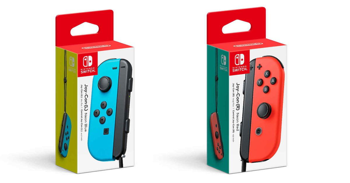 Nintendo cuts price of single Joy-Con, but not by much