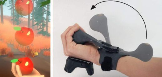 Microsoft Researches More Believable Throwing Haptics For VR
