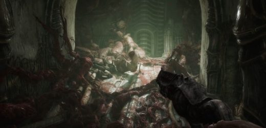 Check Out 14 Minutes of Unsettling Scorn Gameplay