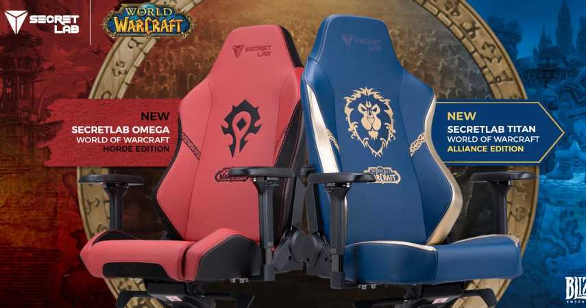 Prepare For Shadowlands With These Official World Of Warcraft Gaming Chairs From Secretlab