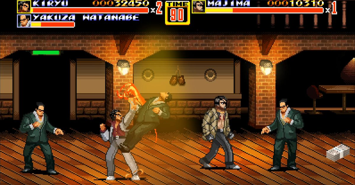 Sega offers four free PC games, including Yakuza-Streets of Rage mash-up
