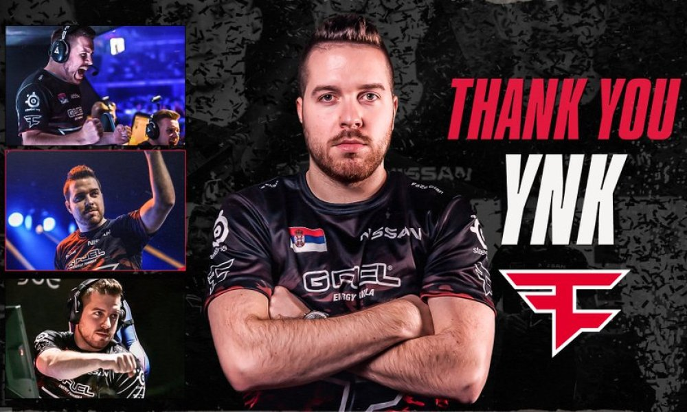 "YNk leaves FaZe Clan; will ""take a break from coaching"" until 2021"