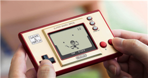 Handheld Super Mario Bros Game and Watch console is a perfect piece of nostalgia