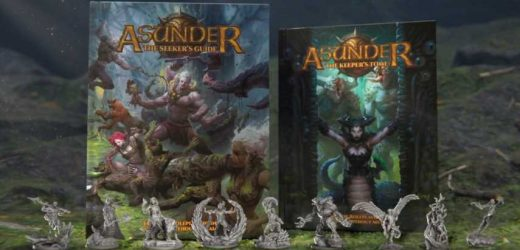 Asunder, A Dying World Without Metal, Seeks Its Life On Kickstarter