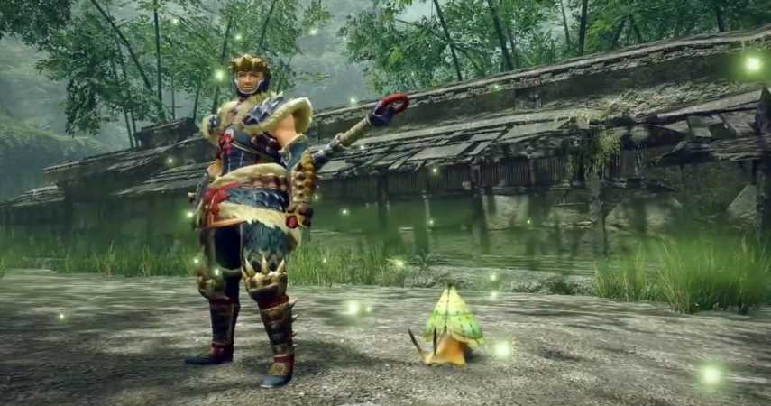 "Monster Hunter Rise Reveals New ""Hunting Helper,"" Escuregot"