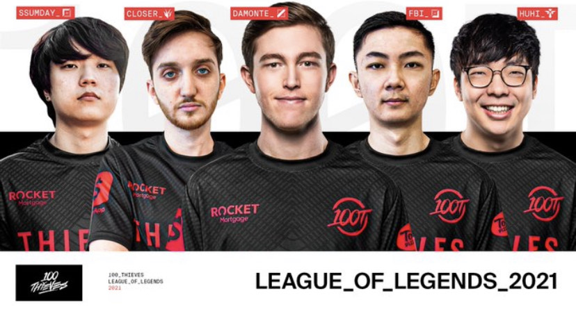 Damonte and Huhi completes 100 Thieves 2021 League of Legends roster