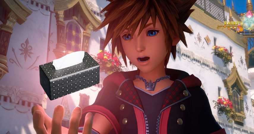 Wipe Away The Tears With Kingdom Hearts Tissue Box