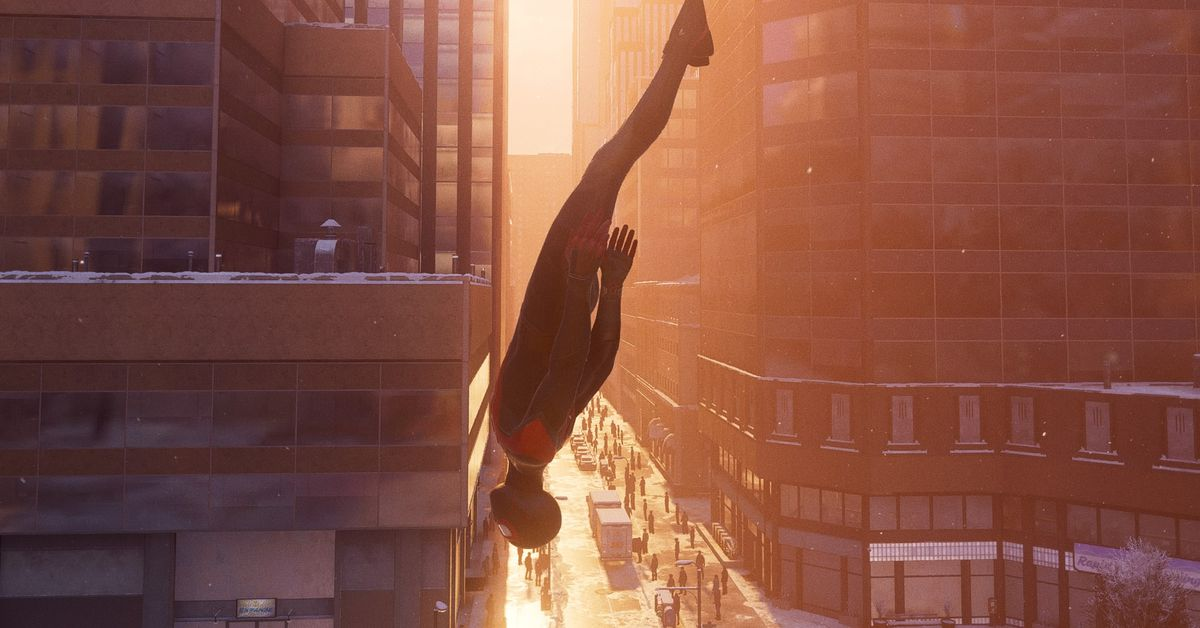 How does Miles Morales perform on PS5, compared to PS4?