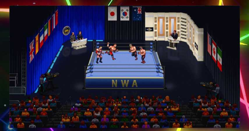 RetroMania Wrestling Making Its Home-Arcade Debut On iiRcade