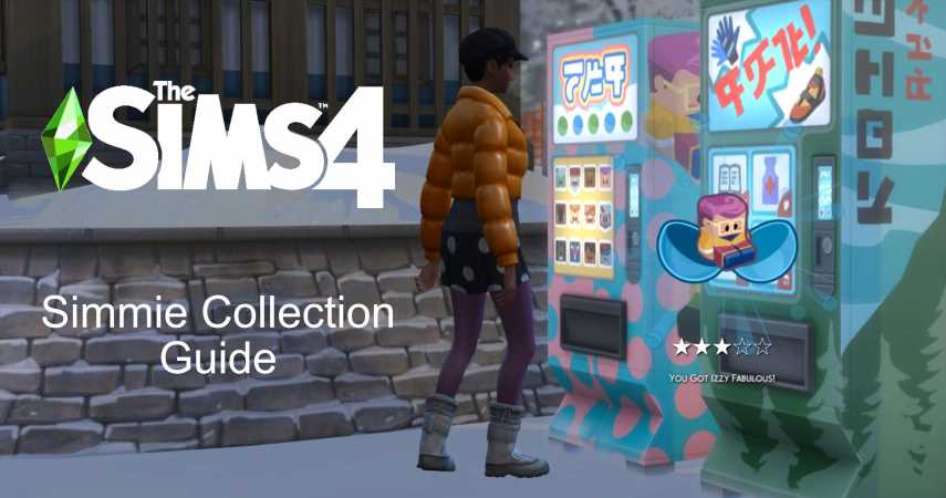The Sims 4: Snowy Escape: All The Simmies (& Where To Find Them)