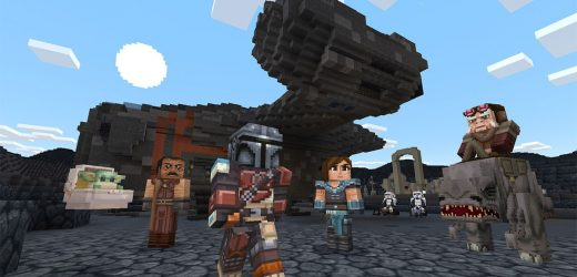 Minecraft's new Star Wars DLC adds The Mandalorian and Baby Yoda