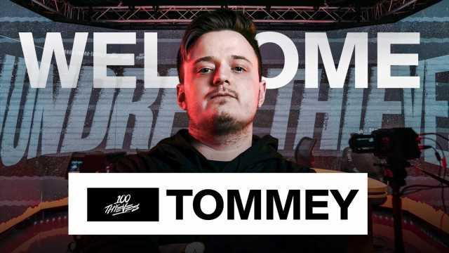 Tommey Joins 100 Thieves As Professional Warzone Player & Content Creator