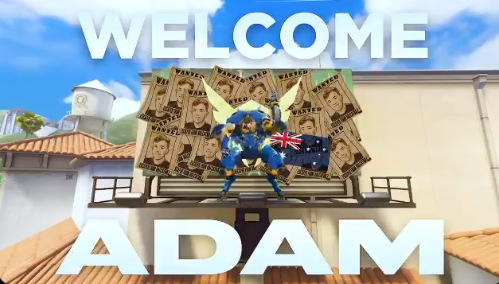 Australian off-tank Adam signed to the Los Angeles Valiant – Daily Esports