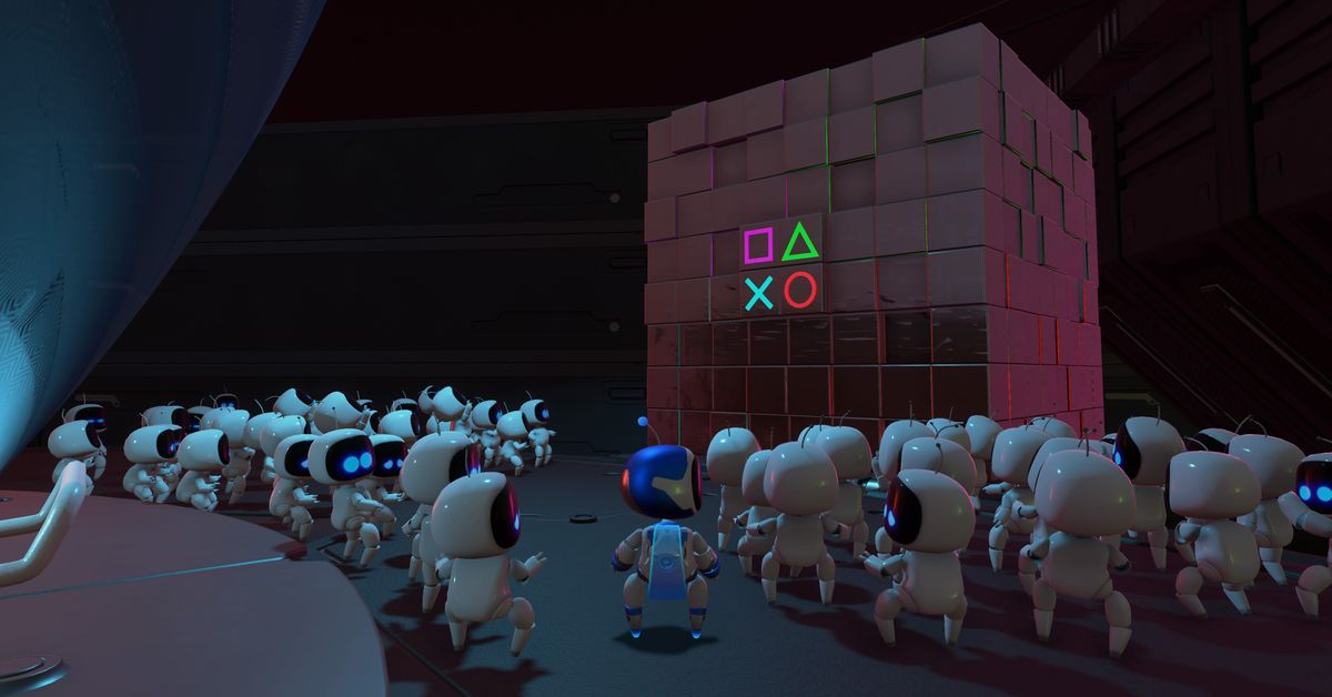 Astro's Playroom is a stellar showpiece for PlayStation 5