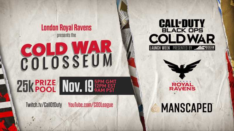 How to Watch $25K London Royal Ravens' Cold War Colosseum